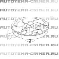 Двиг. вентилятора ford escort 1,6-16v