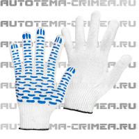 """Per021 перчатки х/б с пвх """"волна"""" 5н 10 класс"""