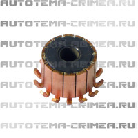 Коллектор мотора отопителя 8x24x18, ламелей 14