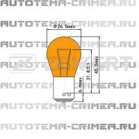 Лампа  py21w 12v 21w bau15s