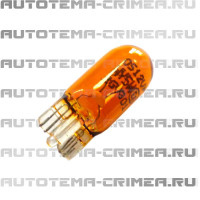 Лампа 12v, wy5w оранжевая, бесцокольная